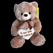 Ursinho de Pelúcia Amo Mais Que Chocolate G