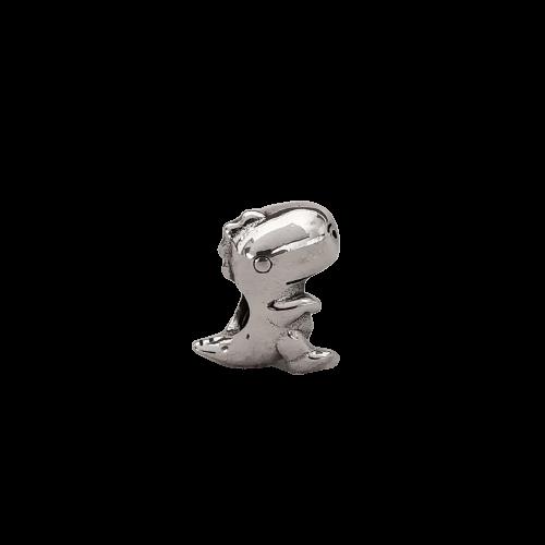 Berloque  Separador Dino em Prata 925