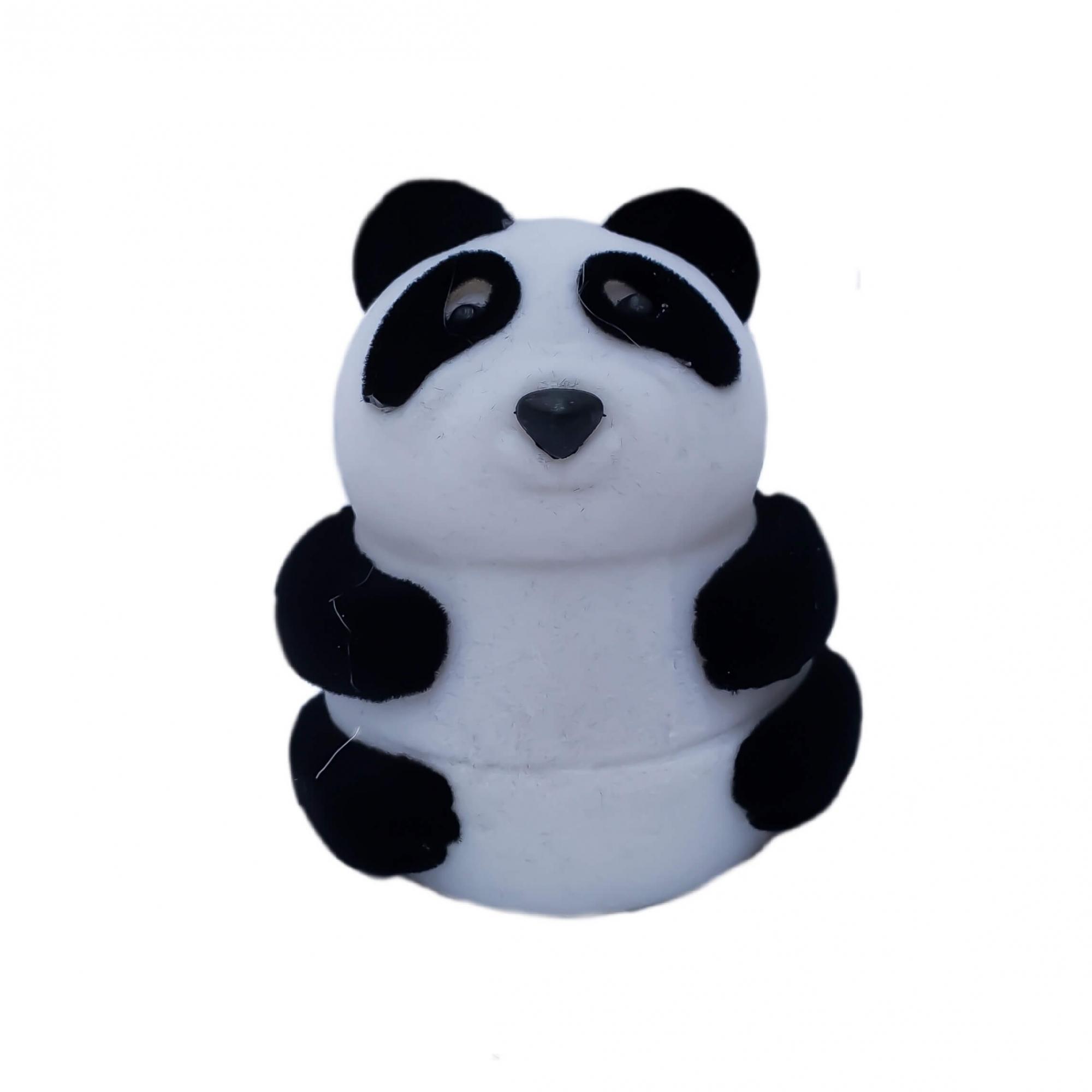 Caixinha em Veludo Panda