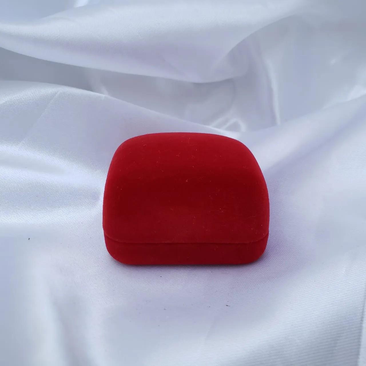 Caixinha em Veludo Vermelho (Anel)