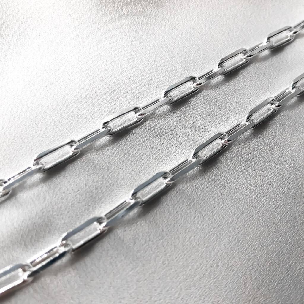 Corrente Cartier em Prata 925  60cm