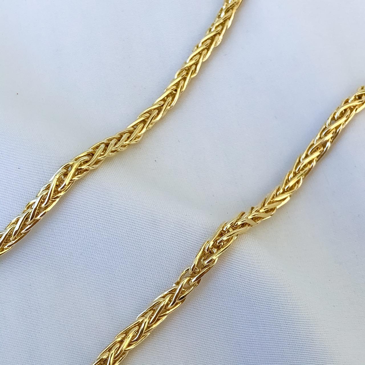 Corrente Malha em Ouro 18K 45cm