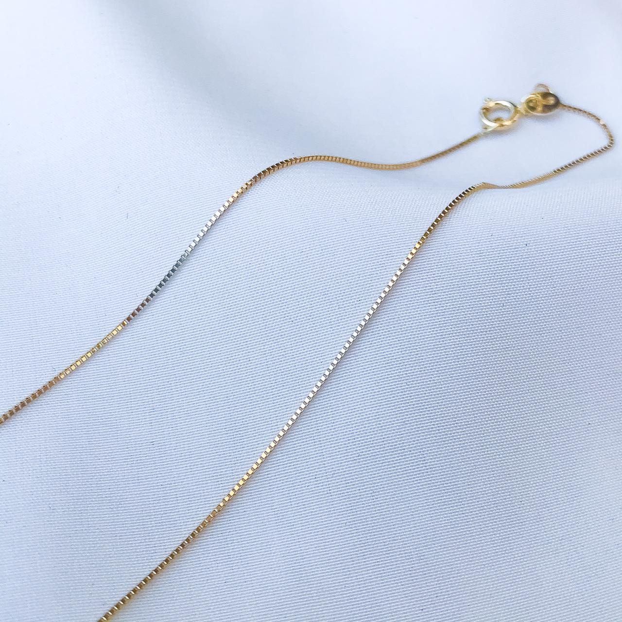 Corrente Veneziana em  Ouro 18k 60cm