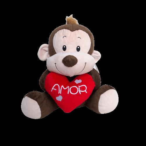 Macaco De Pelúcia Amor M