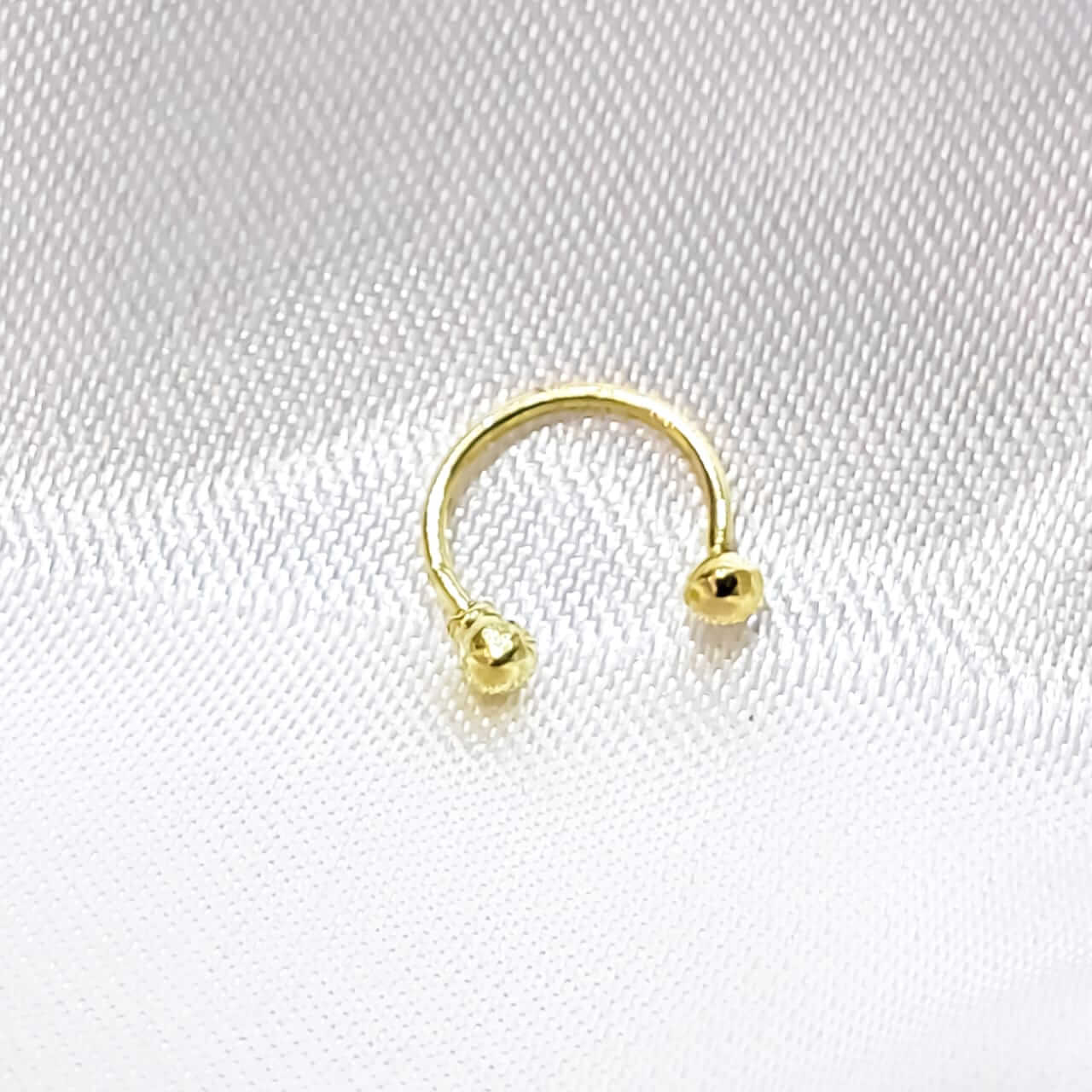 Piercing Bolinhas em Ouro 18K