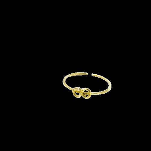 Piercing Infinito em Ouro 18K