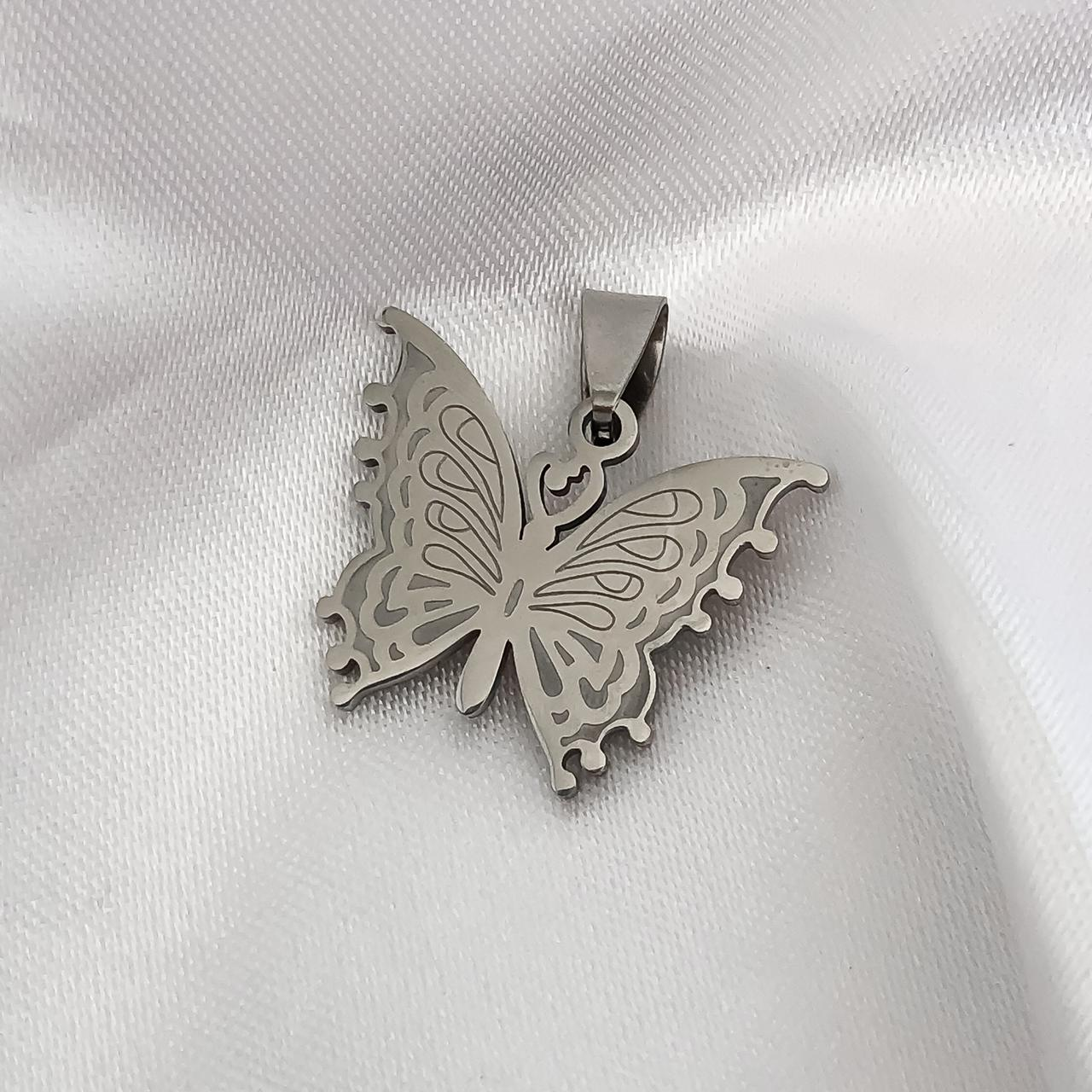 Pingente Aço Inox Butterfly