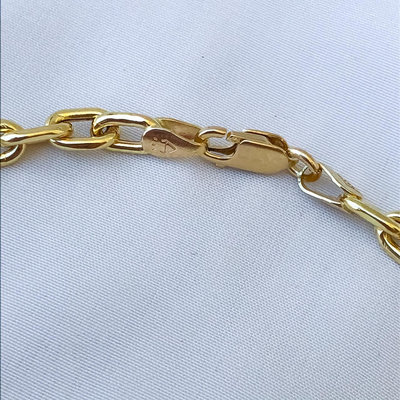 Pulseira Cartier em Ouro 18K 23cm