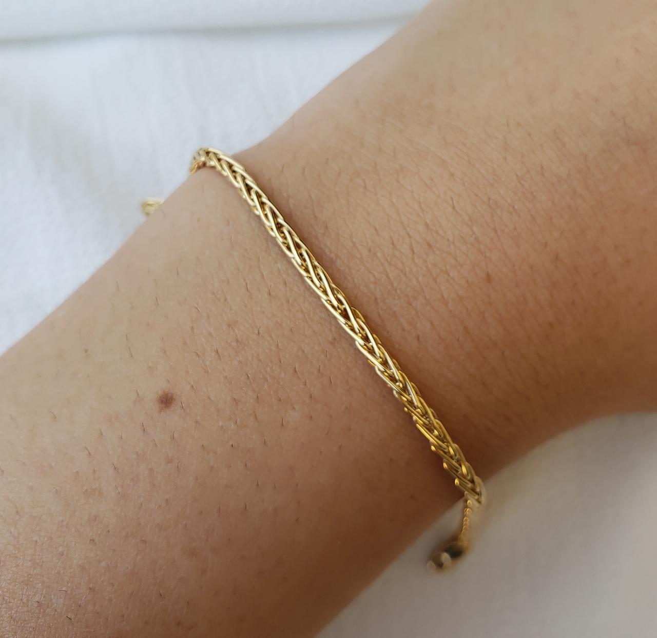 Pulseira Ouro 18k 18cm