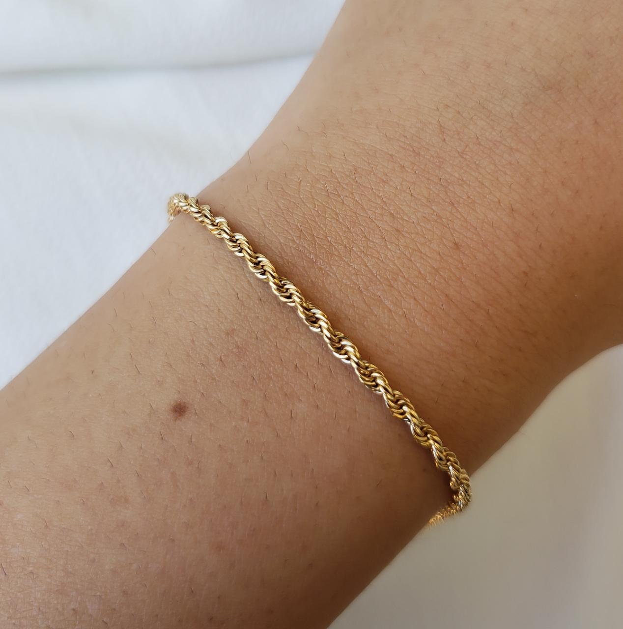 Pulseira Ouro 18k 19,5cm