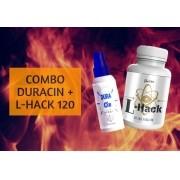 COMBO DURACIN 30 ML E L-HACK 60 CAPS