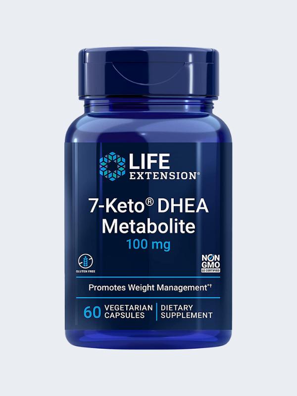 7-Keto DHEA - Life Extension - 100mg 60 CÁPSULAS