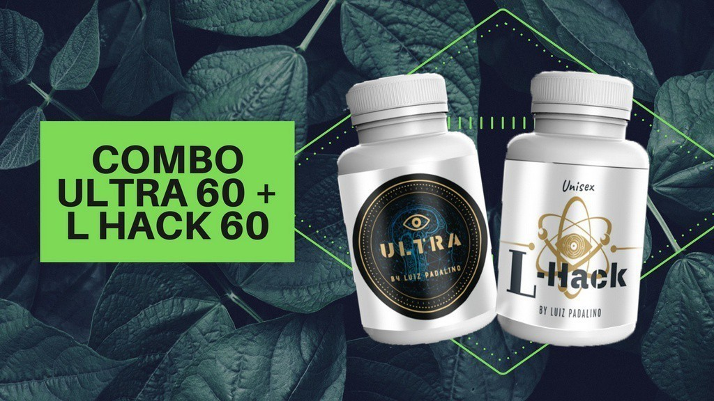 COMBO ULTRA 60 caps + L Hack 60 caps
