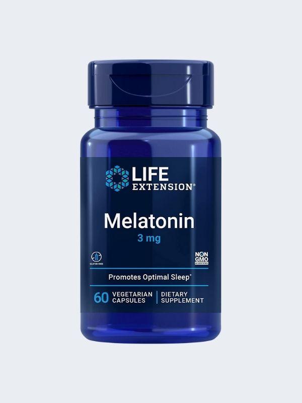MELATONINA - LIFE EXTENSION - 3MG 60 CAPSULAS