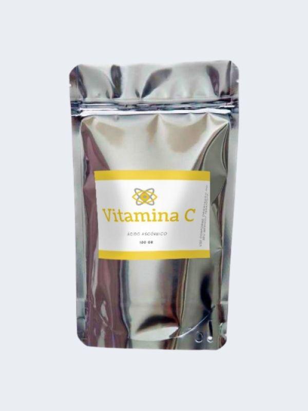 Vitamina C 100 gr Pura (Ácido Ascórbico)