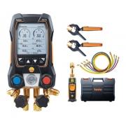 Testo 557s Kit Smart Vácuo Com Mangueiras - Manifold Digital
