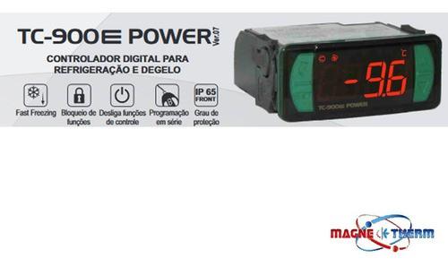 Controlador P/ Refrigeração Degelo Tc-900e Power Full Gauge