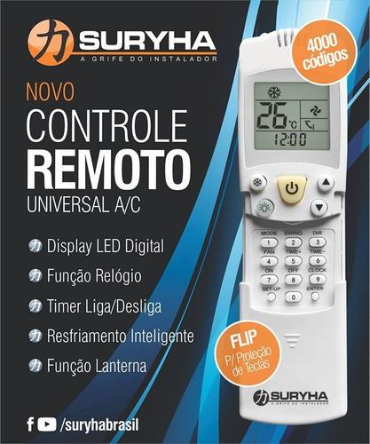 Controle Remoto Universal Suryha