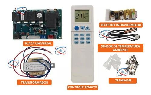Kit Central Eletrica Universal Para Ar Condicionado