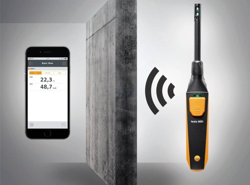 Termohigrômetro Com Bluetooth Testo 605i