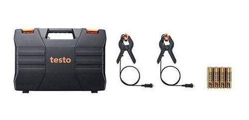 Testo 550 - Kit Manifold digital p/ medição de pressão em sistemas de refrigeração c/ bluetooth, maleta, 2 sondas