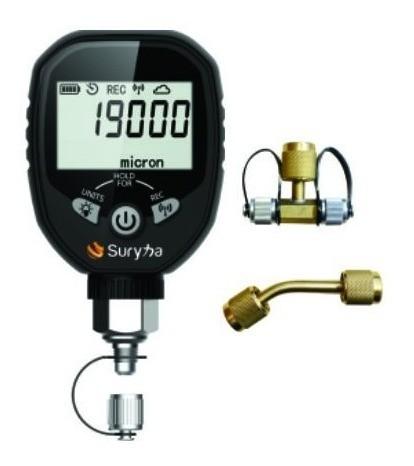Vacuômetro Digital Refrigeração Com Bluetooth Suryha