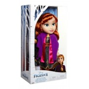 Anna Frozen II - Vestido Luxo - Anna Adveture Doll