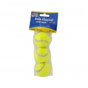 Brinquedo Pet Bola Flexível Com Som 4,5 Cm. 03 Unidades - Western