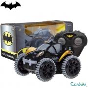 Carro Controle Remoto Veículo De Manobra Batman - Candide