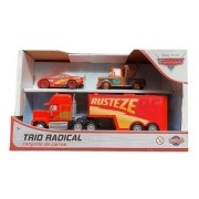 Conjunto de Carrinhos Trio Radical Disney Cars Toyng