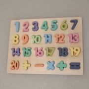 Encaixe Divertido Números - Toy Mix