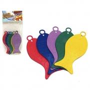 Enfeite Decorativo Kit 10 Peixinhos Coloridos Pesca Junina - Festança