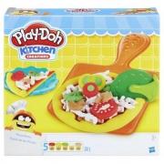 Festa da Pizza com Acessórios e Embalagem de Pizza Play-Doh - Hasbro