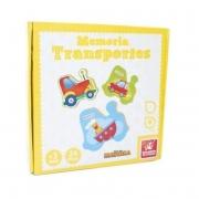 Jogo da Memória Transportes - Brincadeira de Criança