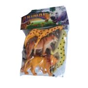 Kit Animais Selvagens c/4 - 4 Modelos