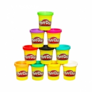 Massa de Modelar Play-Doh Potes Individuais 112gramas - Hasbro