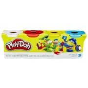 Play-Doh 4 Potes Sortidos - Hasbro