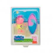 Mini Figura e Acessórios - Peppa Pig - Peppa Surfista - Sunny