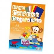Papel Criativo - Dupla- Face A4 24 folhas VMP