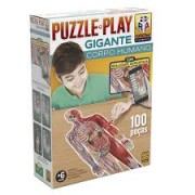 Puzzle Play Gigante - Corpo Humano - 100 peças