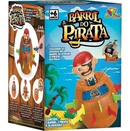 Jogo Barril do Pirata (grande) - Artbrink