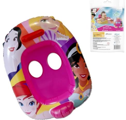 Boia Bote Infantil Fralda Com Encosto Princesas Disney