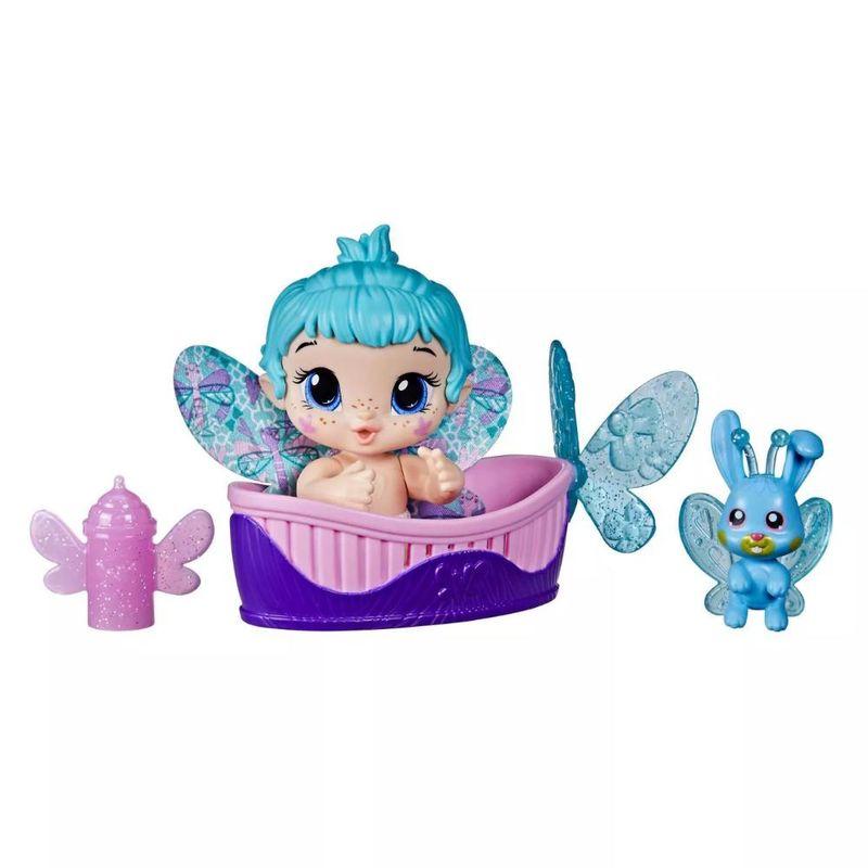 Boneca Baby Alive Glo Pixies Minis Aqua Flutter - Hasbro
