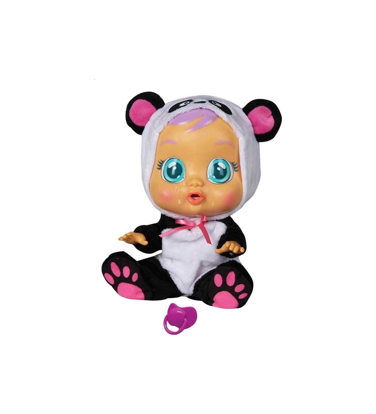 Boneca Cry Babies Pandy - Multikds