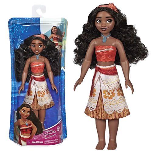 Boneca Princesa Royal Shimmer Moana - Hasbro