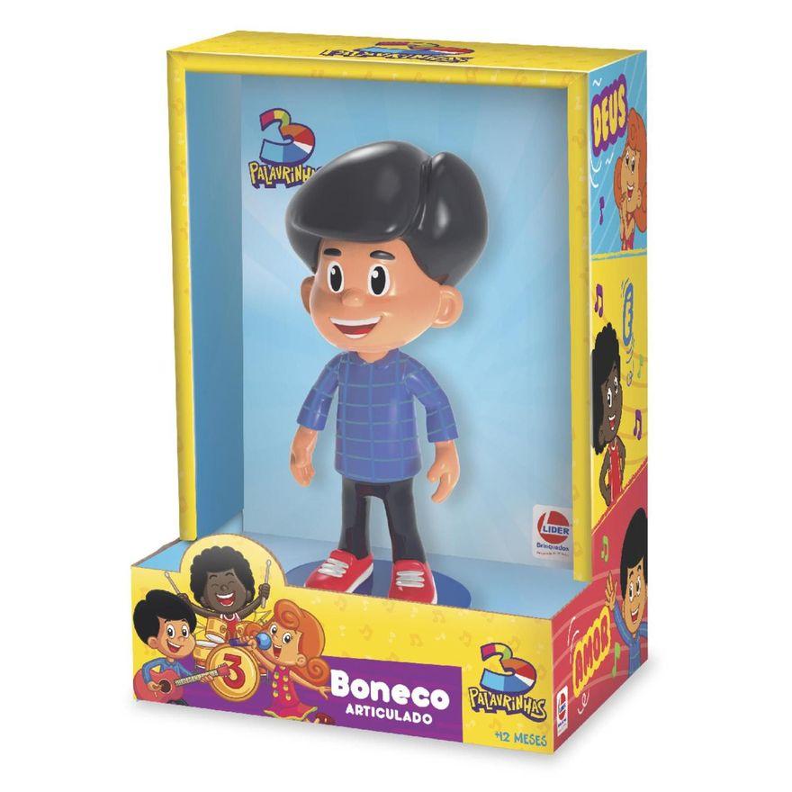 Boneco 3 Palavrinhas Miguel - Lider