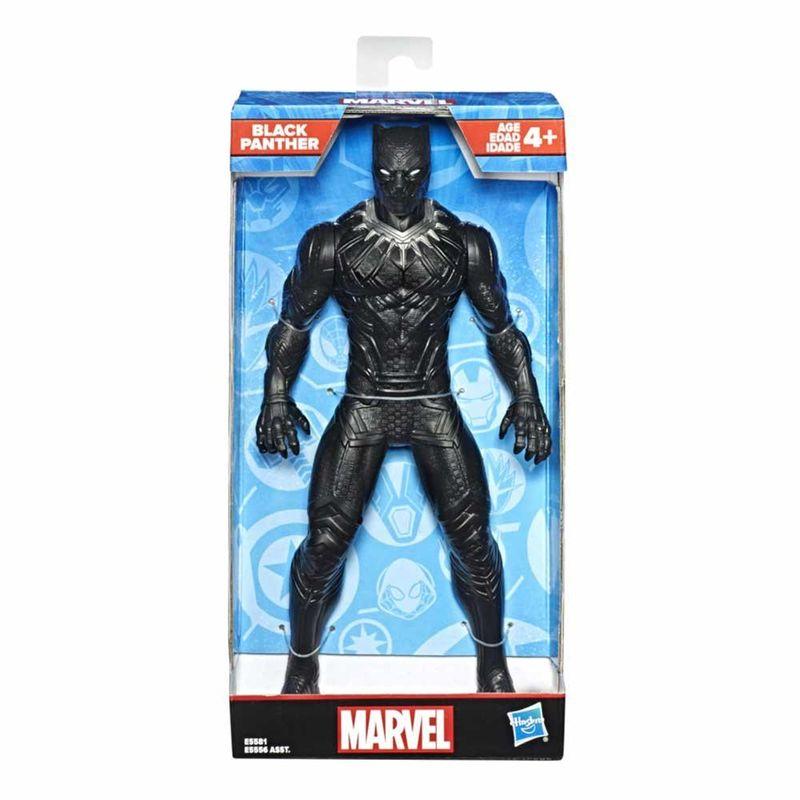 Boneco Articulado - Marvel - Clássico - Pantera Negra - 25 cm - Hasbro