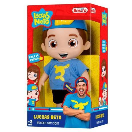 Boneco Luccas Neto - Rosita