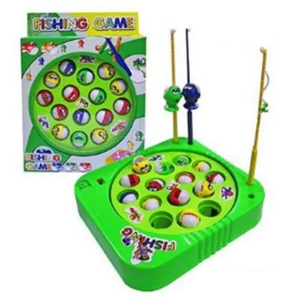 Brinquedo Infantil Jogo De Pescar Pega Peixe Pesca Maluca