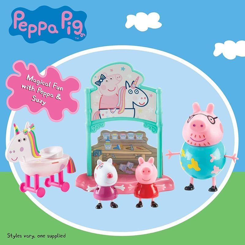 Brinquedo Peppa Pig Playset Temático Unicórnio Mágico - Sunny